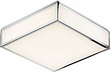 Bauhaus 3 N LED Wand-/Deckenleuchte, chrom weiß