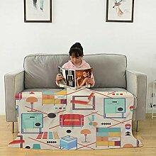Bauhaus Möbel Flanelldecke Flauschig Plüsch