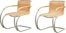 Bauhaus MR20 Armlehnstühle von Ludwig Mies van