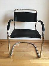 Bauhaus Sessel aus Chrom, 1970er