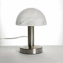 Bauhaus Tischleuchte Touch Dimmer H:21cm rund E14