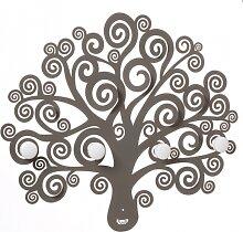 Baum des Lebens dekorative Wandgarderobe 3487 Arti