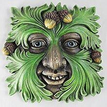 Baum ENT Face Wandschild Forest King Großer Garten, Baummann Greenman Dekorative Geschenk Decor. 16cm