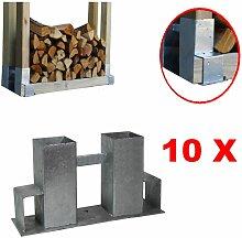 Baumarktplus - Holzstapelhilfe Stapelhilfe