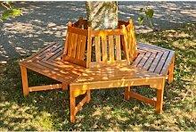 Baumbank aus Holz Garten Living