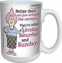 Baumfreie Grüße 'Aunty Acid bessere Tage