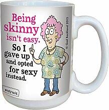 Baumfreie Grüße Aunty Acid Werden Skinny Becher