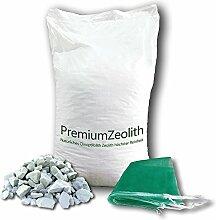 baumgrün 25 kg ZEOLITH 8-16 mm +2 Filtersäcke