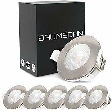 Baumsohn® LED Einbaustrahler flach 230v 5 Watt