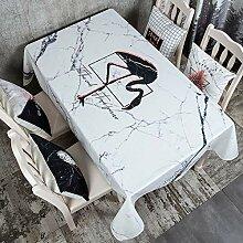 Baumwoll Leinen Tischdecke für Küchen Quadrat