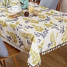 Baumwoll leinen tischdecken Tuch frischer pastoral