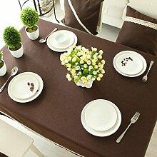 Baumwoll- und Leinen-Tischdecken, Tischdecken,