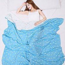Baumwolldecke/ adult Handtuch/ Handtuch-Decke/ Klimaanlage Decke/ einzelne doppelte Decke/NAP Sommer Decke/ Decken Bettwäsche-A 150*200cm(59x79inch)