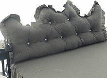 Baumwolle allein / Korean Princess Feng Shui Baumwolle Rückenlehne / Baumwolle Spitze Bett von / ( größe : 200*55cm )