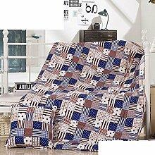 Baumwolle aufklappbares Sofa Kissen Kissen/ Siesta/ Kissen/ Falten Kind Kissen-Q 50x50cm(20x20inch)