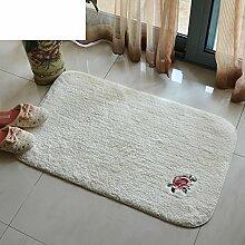 Baumwolle badematte/absorption von wasser nicht sliping matten/küche waschen die bad-bodenmatte-A 50x80cm(20x31inch)