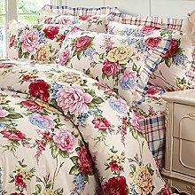 Baumwolle, Bett-Rock, Bettdecke, Steppdecke, 1.2 / 1.5 / 1.8 / 2.0m Bett Heimtextilien 4 Sätze Bettwäsche (1 Bettwäsche + 1 Steppdecke + 2 Kissenbezüge) , k , 1.5m bed