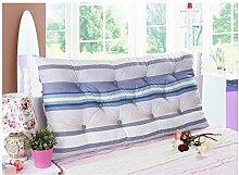 Baumwolle Bett zur Erhöhung der Höhe des großen zurück doppelte lange Kissen Baumwolle Matratze Kissen weiche Bett Rückenlehne abnehmbar ( Farbe : 4# , größe : 1.5m )