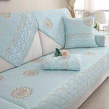 Baumwolle Einfach Anti-Schlupf Sofa Cover