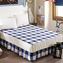 Baumwolle Einzelbett skirt europäischen Stil Bett Bettdecken Bettdecke (3 Stück) ( farbe : # 3 , größe : 120*200cm )
