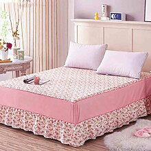 Baumwolle Einzelbett skirt europäischen Stil Bett Bettdecken Bettdecke (3 Stück) ( farbe : # 1 , größe : 150x200cm )