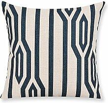 Baumwolle Kissen Dickere Sofa Kissen Nachtkissen ( farbe : A , größe : M )