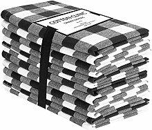 Baumwolle-Klinik 50x50 cm 12er-Set