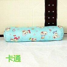 Baumwolle lange Kissen große zylindrische Bett schlafen Lenden Kissen Kissen Freund candy Kissen, 20 x 80 cm demontieren, Cartoon