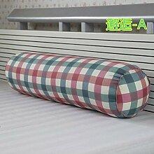 Baumwolle lange Kissen große zylindrische Bett schlafen Lenden Kissen Kissen Freund candy Kissen, 20 x 120 cm demontieren, smity