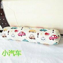 Baumwolle lange Kissen große zylindrische Bett schlafen Lenden Kissen Kissen Freund candy Kissen, 15 x 60 cm demontieren, Auto
