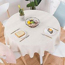 Baumwolle Leinen Tischdecke, Modernen Einfache