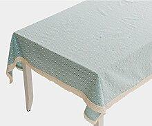 Baumwolle leinen tischtuch graue rechteckige tuch möbel-D 90x90cm(35x35inch)