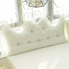 Baumwolle Spitze Bett / Baumwolle allein / Korean Princess Feng Shui Baumwolle zurück / ( größe : 200*55cm )