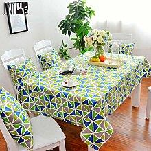 Baumwolle Tischdecke/Tabelle Tuch Couchtisch Tischdecke/Bedeckung-tuch-C 90x90cm(35x35inch)