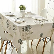 Baumwolle Und Leinen Kleine Frische Tischdecke