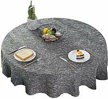 Baumwolle Und Leinen Tischdecke, Einfarbige