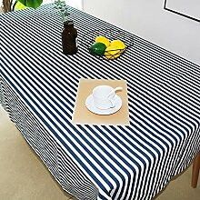 Baumwolle Und Leinen Tischdecke Gestreiften Stil