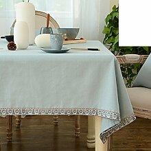 Baumwolle und Leinen Tischdecken/Tuch/ moderne minimalistische Tischdecke/Tischdecke decke/Rundtischdecken/ längliche Tischdecke/Tischdecke decke-B 140x220cm(55x87inch)