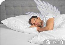 Baumwollkissen, F400, Schlafstil weiß, 40x80 cm