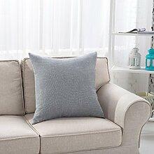 Baumwollkissenbezug Kissen/Queen-Sofa von pillowcase/Platz Kissenauto-D 40x40cm(16x16inch)VersionB