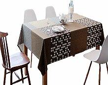 Baumwollleinen Tischdecke, Rechteckige Komfortable