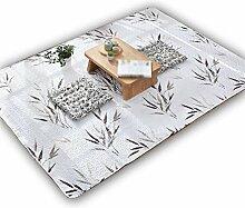 Baumwollmatten, Teppich rutschfest, Wohnzimmer Schlafzimmer Bett Matten, Tatami Matten, dünner Teppich , #1 , 110*180cm