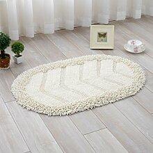Baumwollmatten, Teppiche, Tür-Anti-Rutsch-Pads, Küche, Badabsorptionskissen, Fußpolster , #3 , 50*80cm