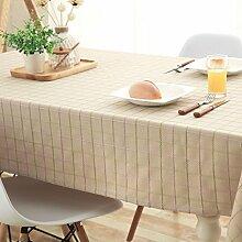 Baumwollstoff Tischdecken Baumwolle und Leinen