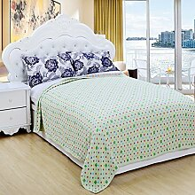 Baumwolltuch Einzel-Doppel-Bettwäsche Im Sommer