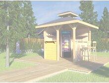 Bausatz Treseneingang Natur für Pavillon