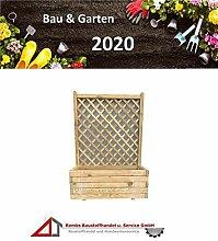 BaustoffhandelShop Blumenkasten Holz Rankgitter