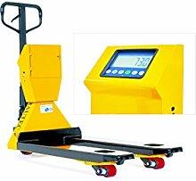 BAUTEC Hubwagen mit Waage und Drucker |