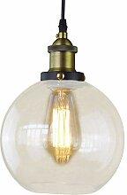 BAYCHEER E27 Hängeleuchte Glas Lampenschirm