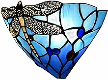 BAYCHEER Farbenfrohe Glas Wandleuchte LIBELLE